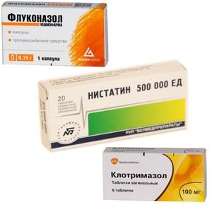 Препараты для лечения мужскоц молочницы