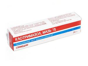 Описание препарата клотримазол