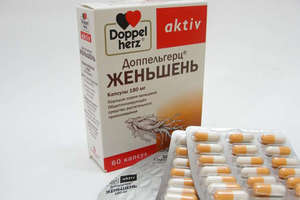 Женьшень в таблетках