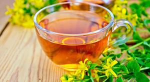 Чай с травы зверобоя