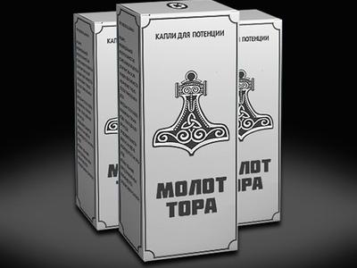 Крем Молот Тора для потенции и мазь Молот Тора для улучшения эрекции