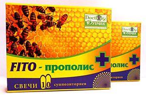 Фито-Прополи - качественные свечи от простатита