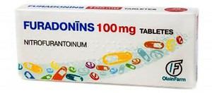 Фурадонин в таблетках по 100 мл